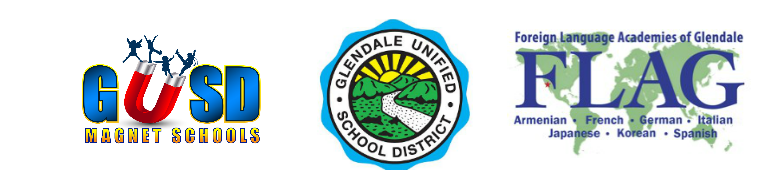 GUSD, FLAG, and Magnet Logo